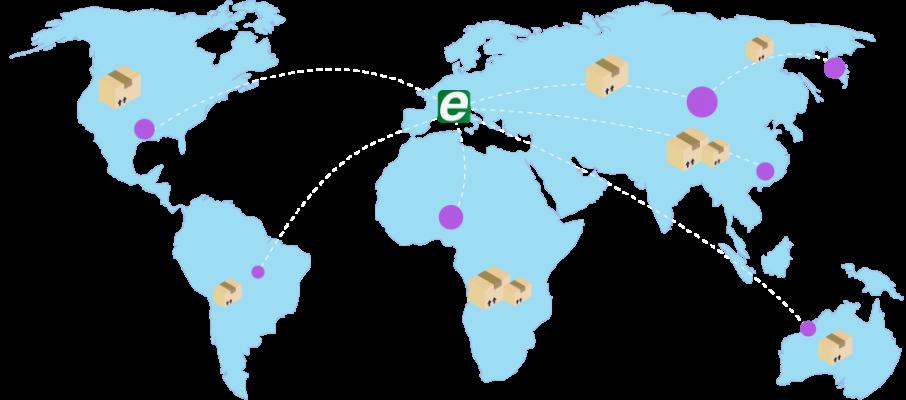 Mappa ecourier